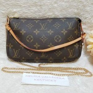 Louis Vuitton Pochette Accessoires with Strap